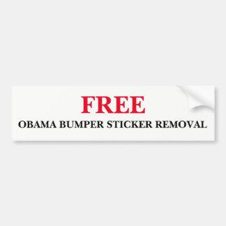 Free Obama Bumper Sticker Removal