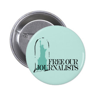 Free our journalists buttons