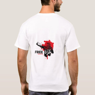 Free Palestine Arabic Homeland Cotton Tshirt