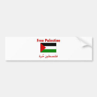 Free Palestine Bumper Sticker