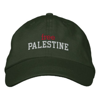 Free Palestine Embroidered Cap