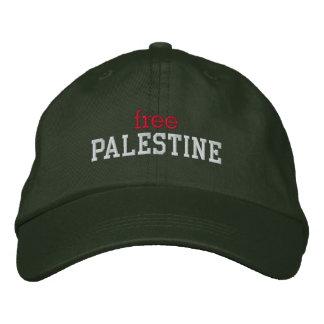 Free Palestine Embroidered Baseball Caps