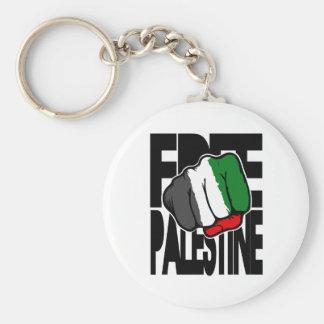 Free Palestine 'Flag Fist' Key Chain