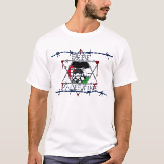 Free Palestine Israeli Wire T-Shirt