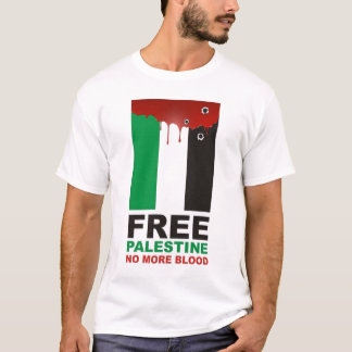 Free Palestine No More Blood T-Shirt