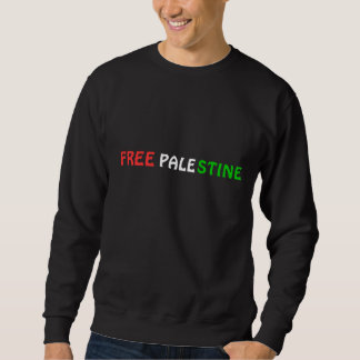 FREE PALESTINE Sweat-shirt Sweatshirt