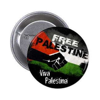 Free Palestine - Viva Palestina 6 Cm Round Badge