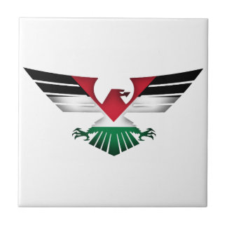 FREE PALESTINE - WINGS OF FREEDOM SMALL SQUARE TILE