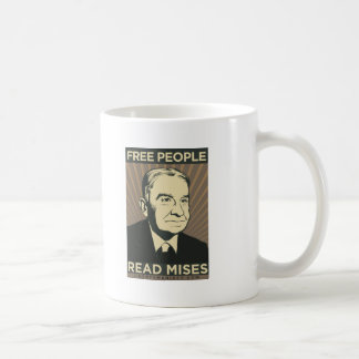 Free people Read Mises Coffee Mug