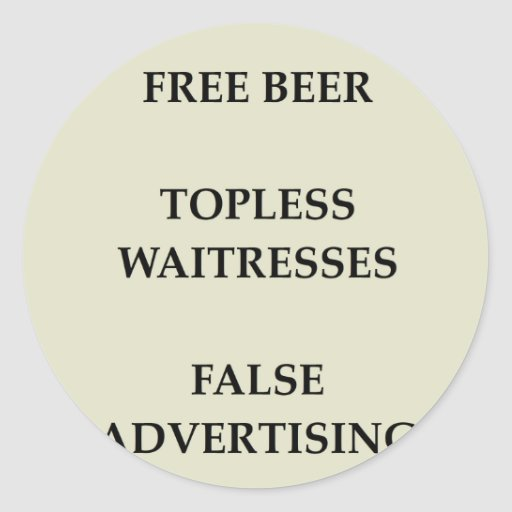 FREE.png Round Sticker