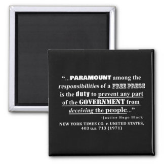 Free Press Quote Case Law (1971) Magnet