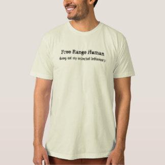 Free Range Human Tee Shirt