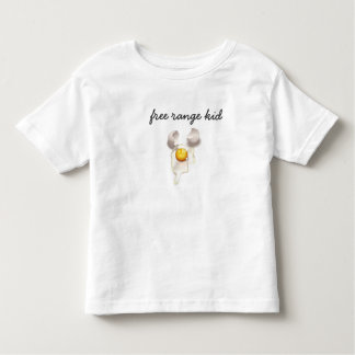 free range kid t-shirt! toddler T-Shirt