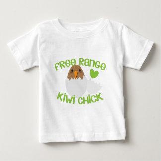 Free Range KIWI chick New Zealand Baby T-Shirt