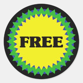 FREE Retail Sale Sticker