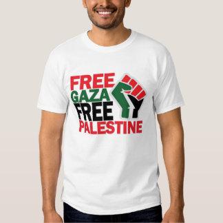 FREE SAFE GAZA PALESTINE TEE SHIRTS