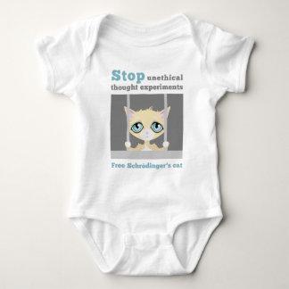 Free Schrodinger's Cat Baby Bodysuit