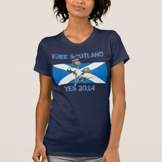 Free Scotland Thistle T-Shirt