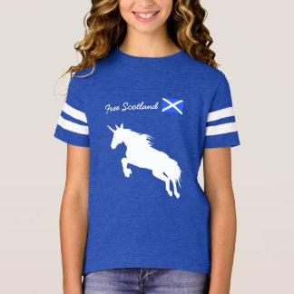 Free Scotland Unicorn T-Shirt