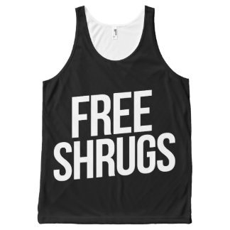 Free Shrugs All-Over Print Tank Top