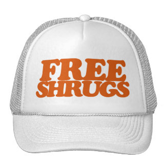 Free Shrugs Mesh Hat