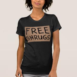 Free Shrugs Cardboard Sign T-Shirt