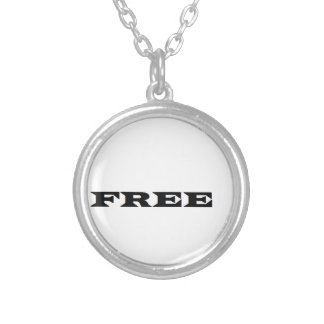FREE SILVER PLATED NECKLACE