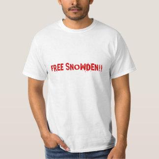Free Snowden Tee