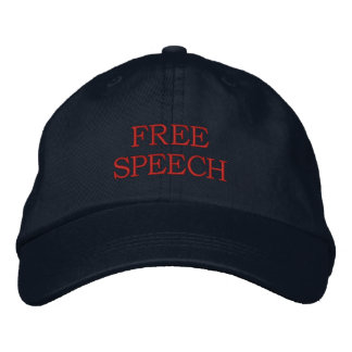 FREE SPEECH EMBROIDERED HAT