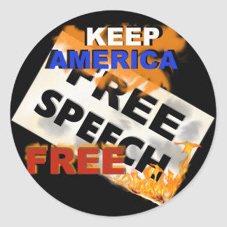 Free Speech Stickers
