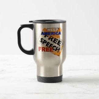 Free Speech thermal mug