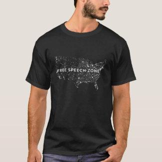 Free Speech Zone shirt