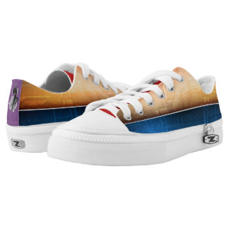 Free Spirit Abstract Low Tops