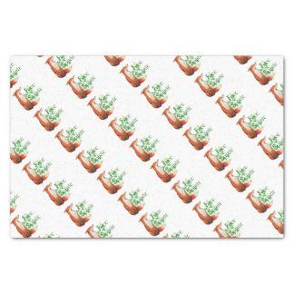 free spirit fox tissue paper
