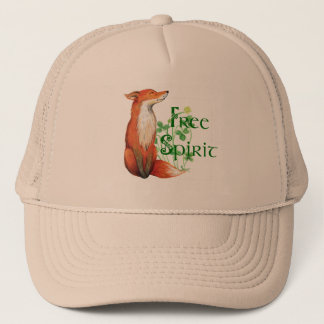 free spirit fox trucker hat
