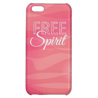 Free Spirit Inspirational Quote iPhone 5C Case