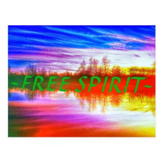 Free Spirit Postcard