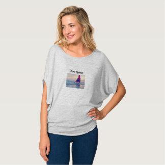 Free Spirit, sail boat Modern comfort shirt