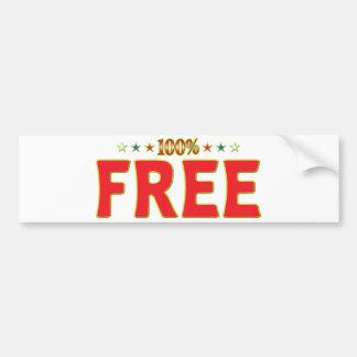 Free Star Tag Bumper Stickers