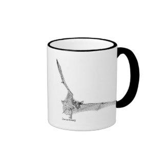 Free-tailed bat coffee mugs