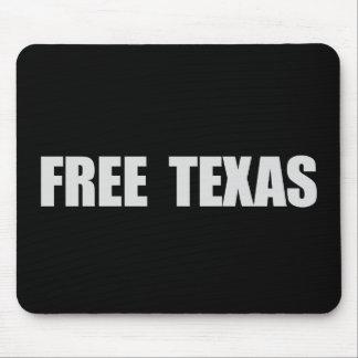 FREE TEXAS T-shirt Mouse Pad