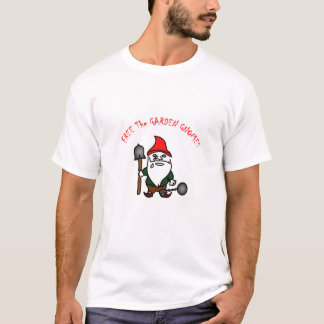 Free The Garden Gnomes T-Shirt
