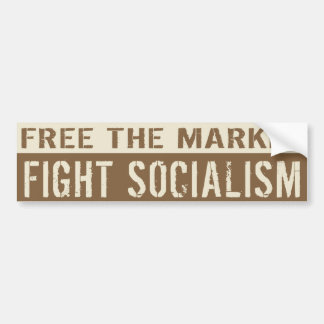 Free The Market Bumper Sticker