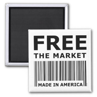 Free The Market Square Magnet