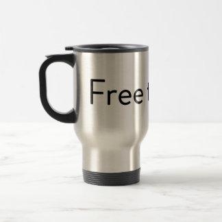 Free the Pill Travel Mug