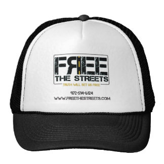 Free the Streets Tees Cap