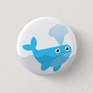 Free The Whales 3 Cm Round Badge