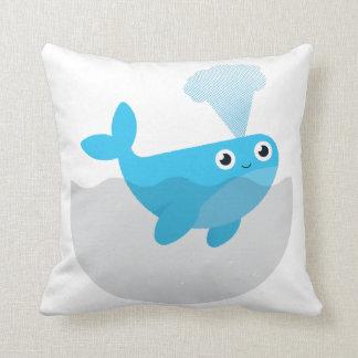 Free The Whales Cushion
