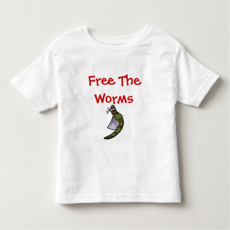 Free The Worms Toddler T-Shirt