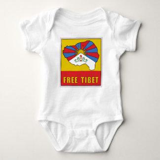 Free Tibet Baby Bodysuit